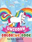 Unicorn Coloring Book For Kids Ages 4-8 US Edition: 50 Pictures To Color: Fun and Beautiful Unicorn Coloring Pages (Books for Kids) Cover Image