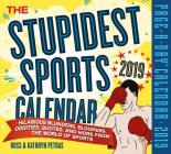 The Stupidest Sports Page-A-Day Calendar 2019 Cover Image