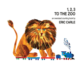 1, 2, 3 to the Zoo: An Oversized Counting Book Cover Image