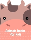 Animals Books for Kids: Christmas Coloring Book for Children, Preschool, Kindergarten age 3-5 (Early Childhood Education #8) Cover Image