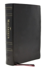 Nasb, MacArthur Study Bible, 2nd Edition, Genuine Leather, Black, Thumb Indexed, Comfort Print: Unleashing God's Truth One Verse at a Time Cover Image