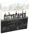 Cityscapes Glow in the Dark Coloring Cover Image