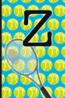 Z: Tennis Monogram Initial Notebook for boys Letter Z - 6