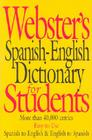 Webster's Spanish-English Dictionary for Students Cover Image