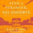 Find a Stranger, Say Goodbye Cover Image