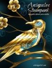 Animales Steampunk libro para colorear para adultos Cover Image