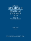 Morning Journals, Op.279: Study Score Cover Image