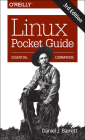 Linux Pocket Guide: Essential Commands Cover Image