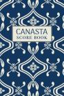 Canasta Score Book: 6x9, 110 pages, Keep Track of Scoring Card Games Cover Image