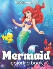 Mermaid Coloring Books: for Kids Ages 4-8,30 Cute, Unique Coloring Pages (Coloring Books for kids) Cover Image