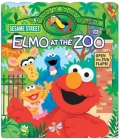 Sesame Street: Elmo at the Zoo (Open Door Book #1) Cover Image