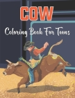 Cow Coloring Book for Teens: An Adult Cow Coloring Book Designs with Mandala Style Patterns for relaxation (cow coloring book) . Vol-1 Cover Image