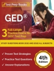 GED Study Questions Book 2021 and 2022 All Subjects: 3 Full-Length Practice Exams for GED Test Prep [4th Edition] Cover Image