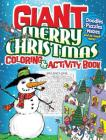 Giant Merry Christmas Coloring & Activity Book Cover Image