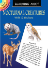 Learning about Nocturnal Creatures (Dover Little Activity Books) Cover Image