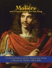 Molière and France under the Sun King: A Coloring Book Cover Image