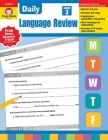 Daily Language Review Grade 3 Cover Image