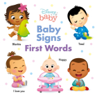Disney Baby Baby Signs: First Words Cover Image