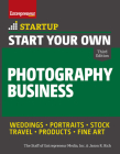 Start Your Own Photography Business (Startup) Cover Image