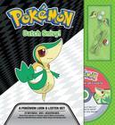 Catch Snivy! a Pokémon Look & Listen Set (Pokemon Pikachu Press) Cover Image