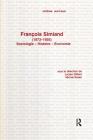 Francois Simiand (1873-1935): S Cover Image