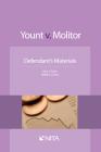 Yount V. Molitor: Defendant Materials Cover Image