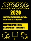 Roto Solo 2020 Fantasy Football and Daily Fantasy Football Magazine Cover Image