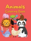 Animals Coloring Book: Coloring Book for Kids 47 Beautiful design for you A book for girls, boys and everybody who loves Animals Cover Image