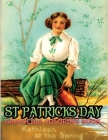 st. patricks day grayscale coloring book: Featuring 40+ Vinage st.patricks day Greetings Designs to Draw (Coloring Book for Relaxation) Cover Image