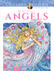 Creative Haven Beautiful Angels Coloring Book (Creative Haven Coloring Books) Cover Image