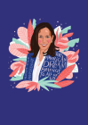 Madam Vice President Commemorative Journal: A Blank Lined Notebook Tribute to Kamala Harris with Inspiring Words of Hope and Equality Cover Image