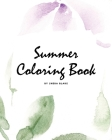 Summer Coloring Book for Young Adults and Teens (8x10 Coloring Book / Activity Book) Cover Image