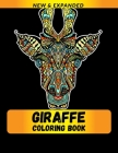 Giraffe Coloring Book: Coloring Book for Adults Relaxation Cover Image