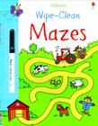 Wipe-Clean Mazes Cover Image