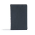 CSB Ultrathin Reference Bible, Black LeatherTouch Cover Image