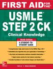 First Aid for the USMLE Step 2 Ck, Ninth Edition (First Aid USMLE) Cover Image