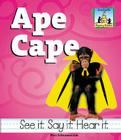 Ape Cape (Rhyming Riddles) Cover Image