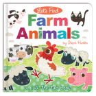 Let's Find Farm Animals (Let's Find Pull-the-Tab Books) Cover Image