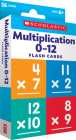 Flash Cards: Multiplication 0 - 12 Cover Image