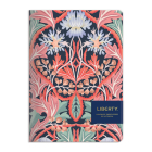 Liberty London May Handmade B5 Embroidered Journal Cover Image