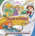 Disney Princess Storybook Collection: Tales to Finish: Color Your Own Storybook Collection! Cover Image