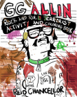 Gg Allin: Rock and Roll Terrorist Activity and Coloring Book Cover Image