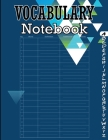 Vocabulary Notebook: 100 Page Alphabetical Notebook with Printed A-Z Tabs, Vocabulary Notepad Cover Image