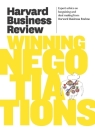 Harvard Business Review on Winning Negotiations Cover Image
