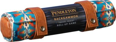 Pendleton Backgammon: Travel-Ready Roll-Up Game (Camping Games, Gift for Outdoor Enthusiasts) Cover Image