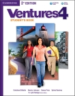 Ventures Level 4 Student's Book [With CD (Audio)] Cover Image