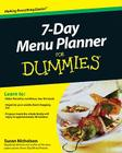 7-Day Menu Planner for Dummies Cover Image