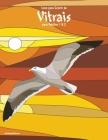 Livro para Colorir de Vitrais para Adultos 1 & 2 Cover Image