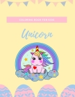 Unicorn coloring book for kids: Fantastic Unicorn coloring books for kids ages 4-8 years - Improve creative idea and Relaxing (Book5) Cover Image