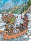 The Lewis and Clark Expedition Coloring Book (Dover History Coloring Book) Cover Image